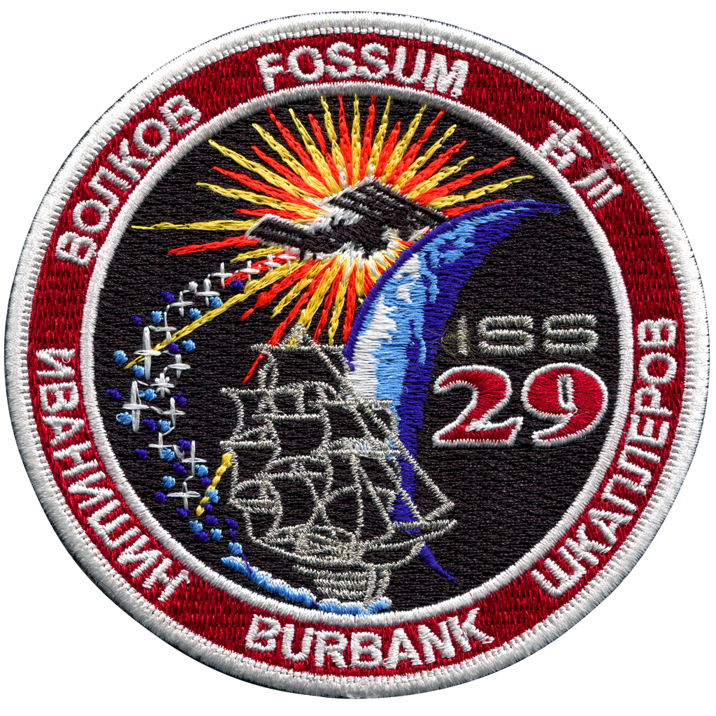 Expedition 29 - Space Patches