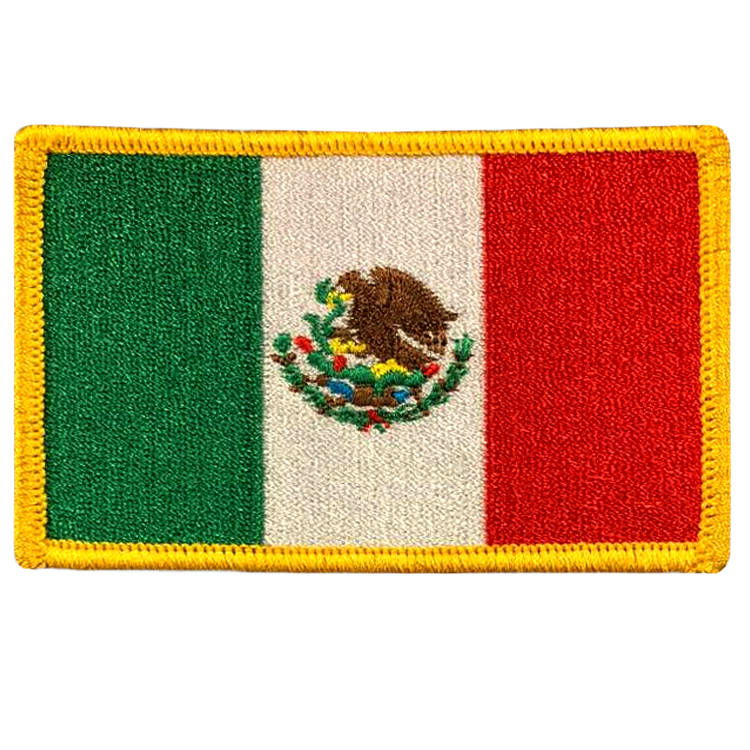 Mexico Flag - Space Patches