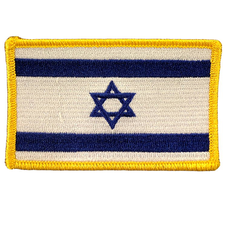 Israel Flag - Space Patches