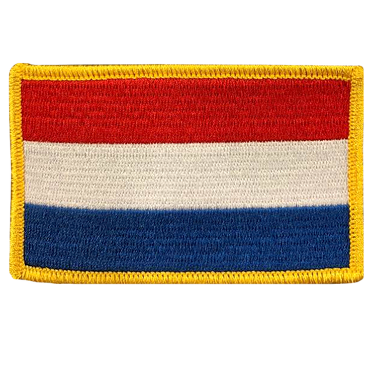 Netherlands Flag - Space Patches