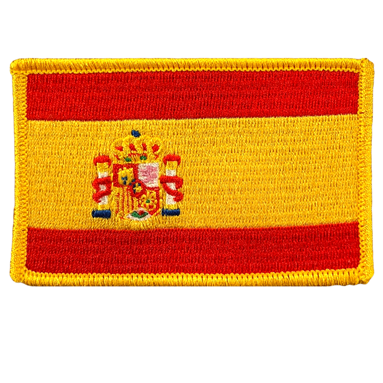 Spain Flag - Space Patches