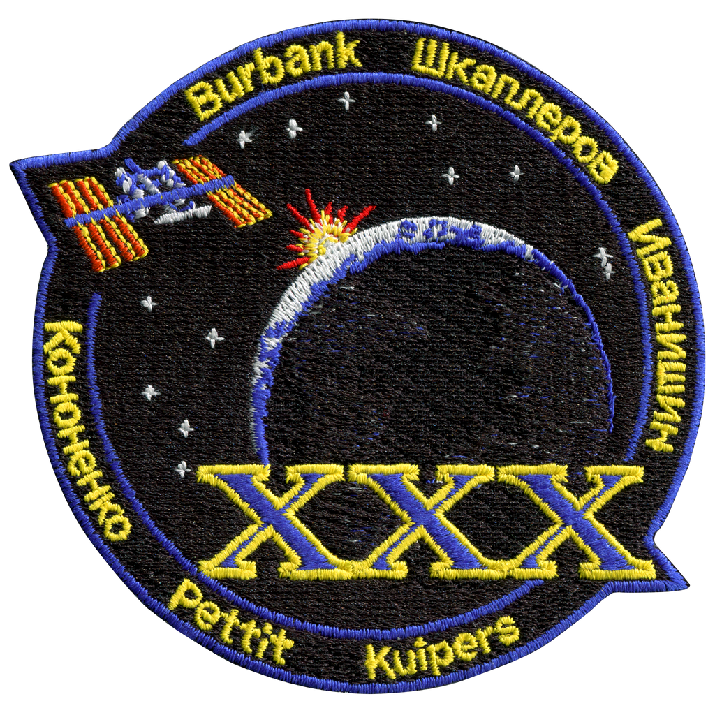Expedition 30 - Space Patches