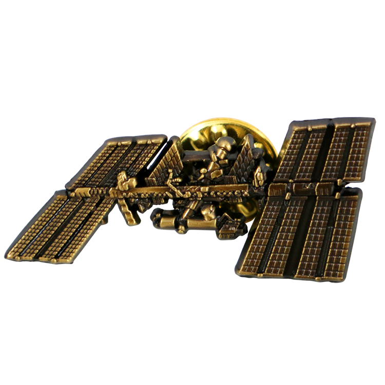 International Space Station Lapel Pin - Space Patches
