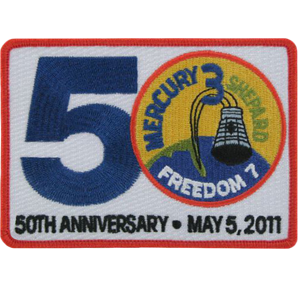 Mercury 50th Anniversary - Space Patches