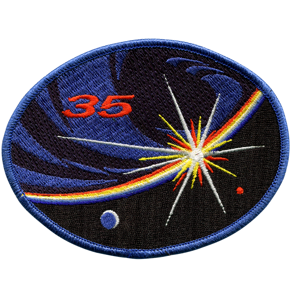 Expedition 35 - Space Patches