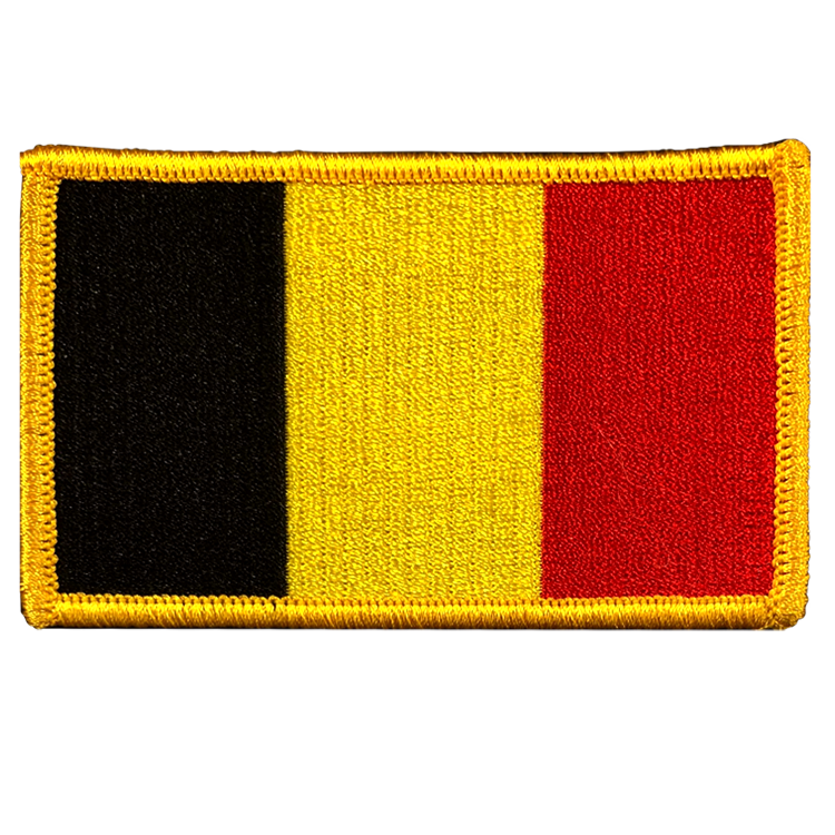 Belgium Flag - Space Patches