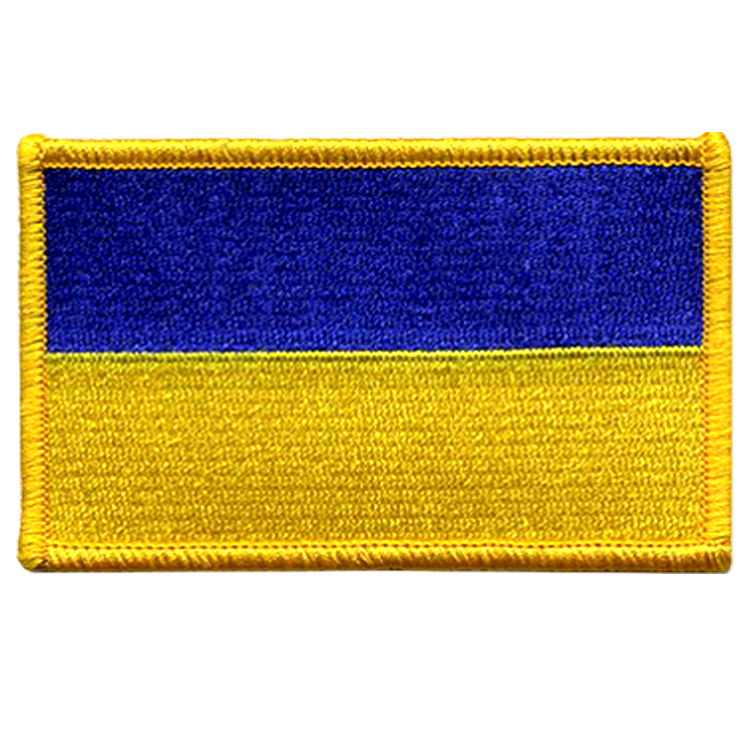 Ukraine Flag - Space Patches