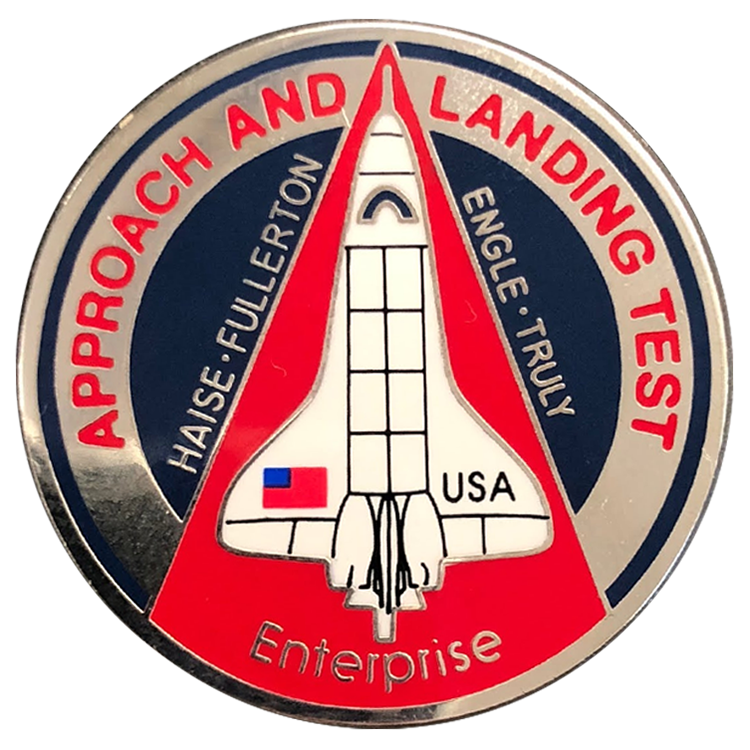 Approach & Landing Pin - Space Patches