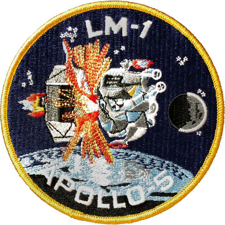 LM-1 Apollo 5 - Space Patches