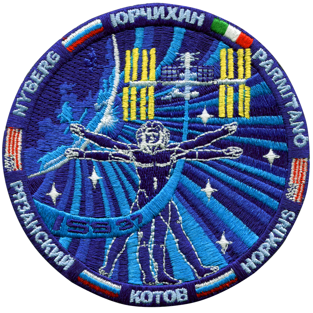 Expedition 37 - Space Patches
