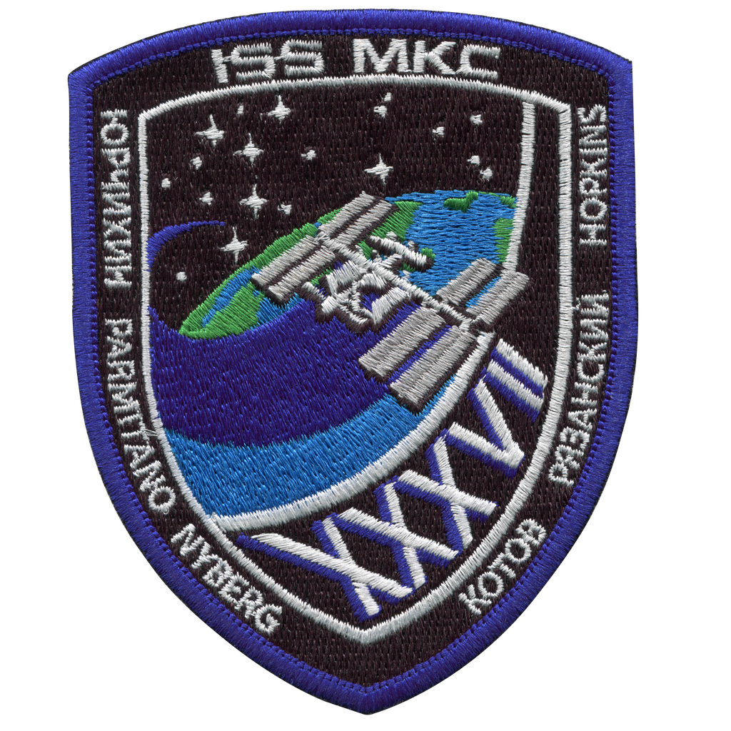 Expedition 37 (1st Version) - Space Patches