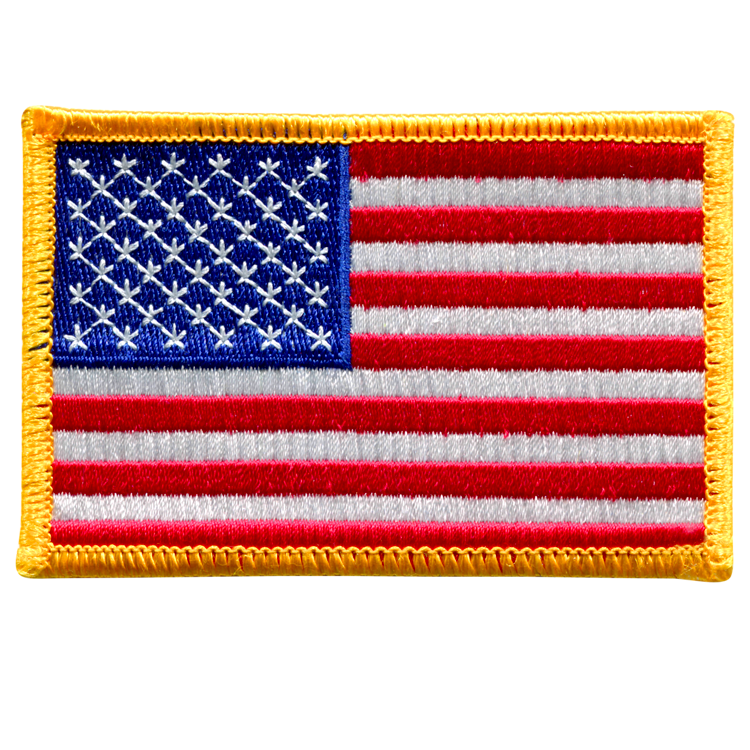 American Flag - Space Patches