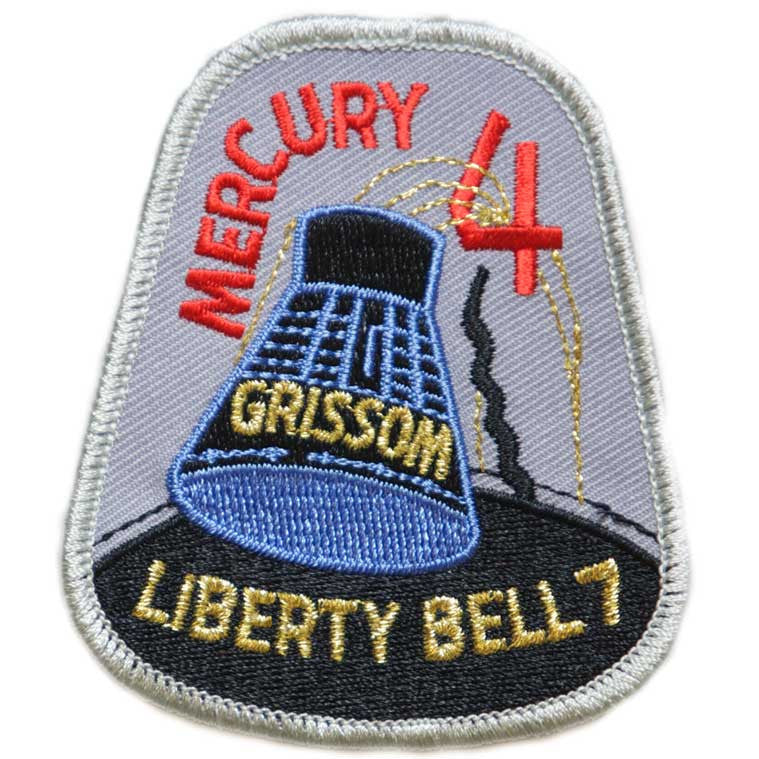 "Mercury Four — ""Liberty Bell 7"" - Space Patches"