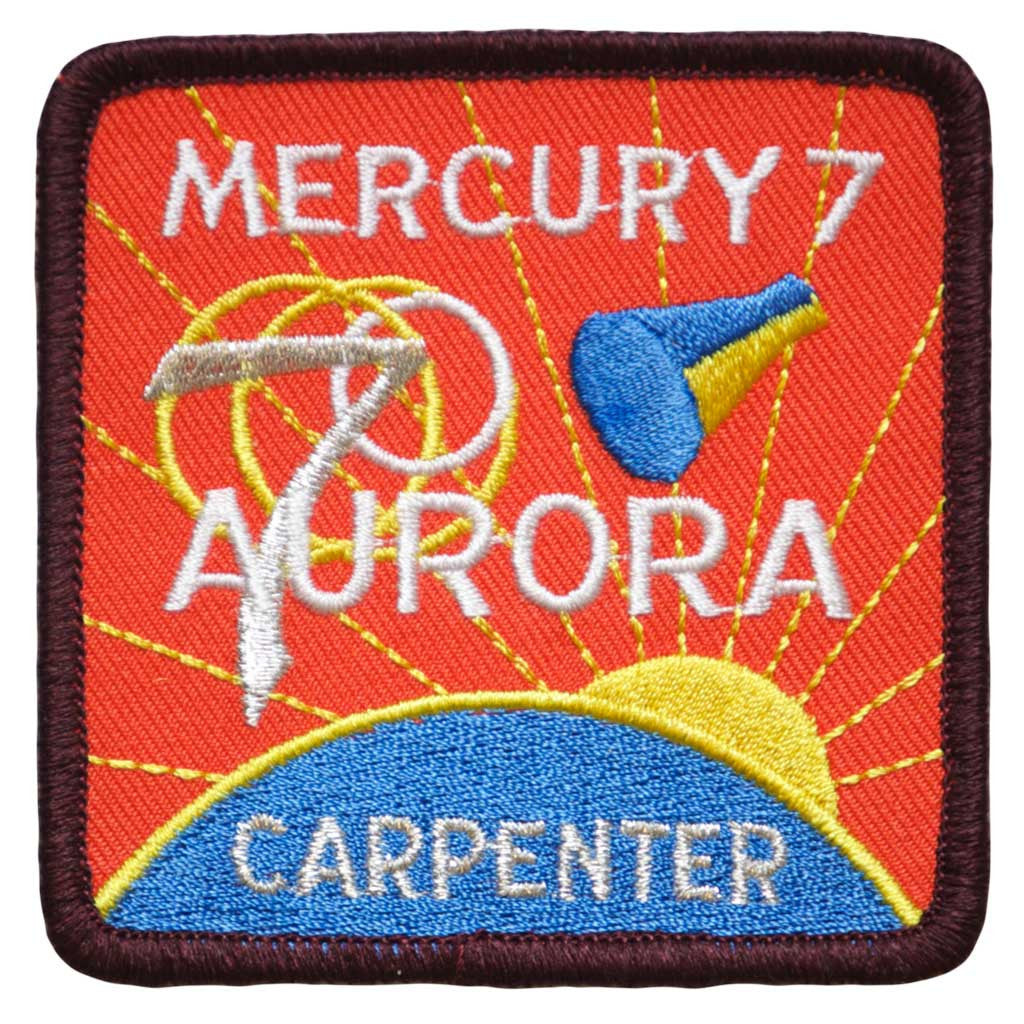 "Mercury Seven — ""Aurora 7"" - Space Patches"