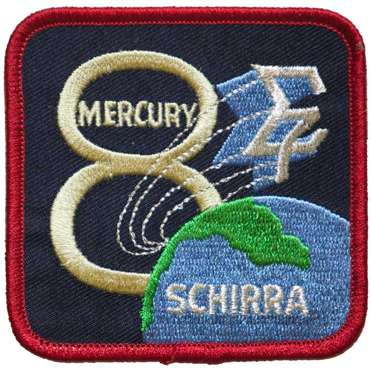 "Mercury Eight — ""Sigma 7"" - Space Patches"