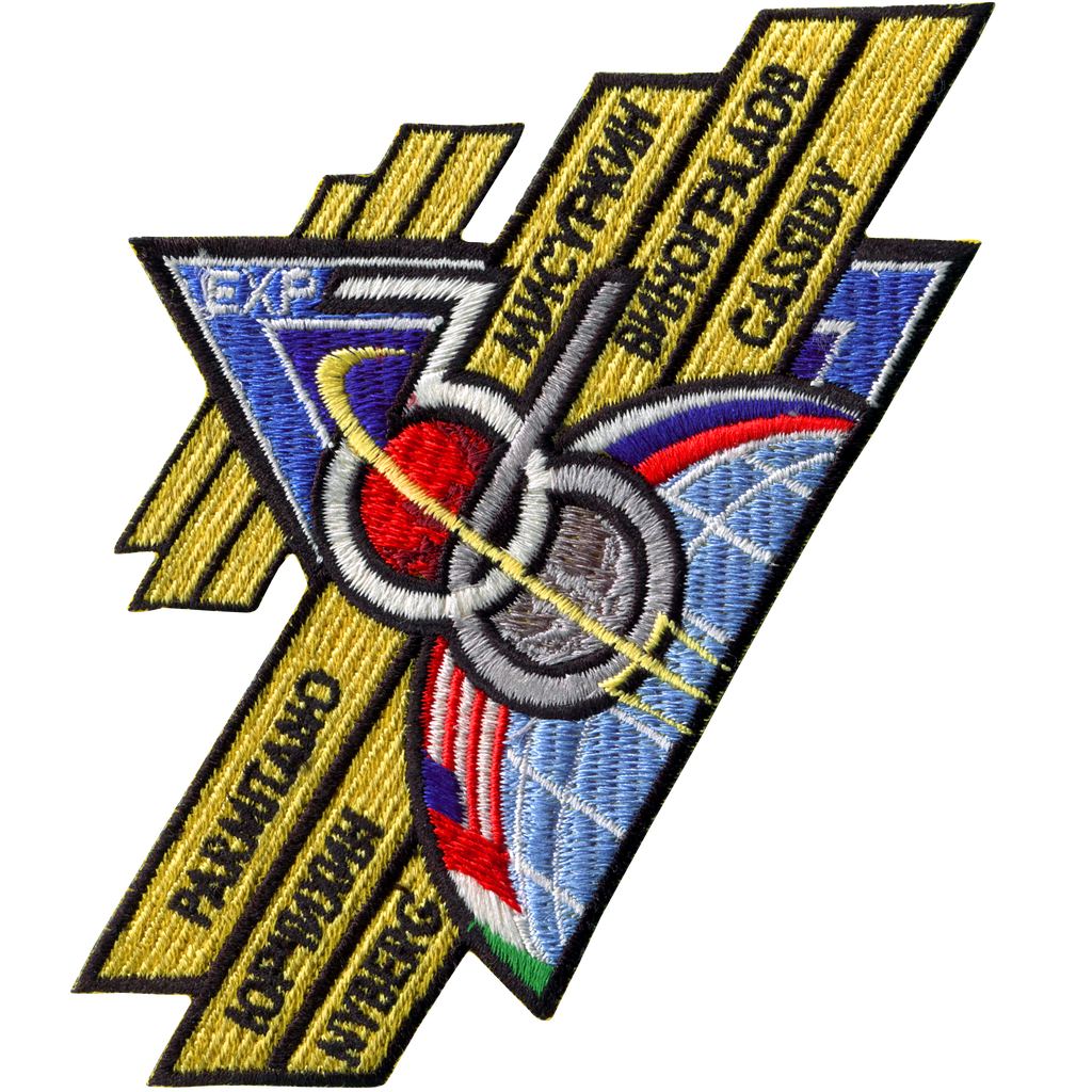 Expedition 36 - Space Patches