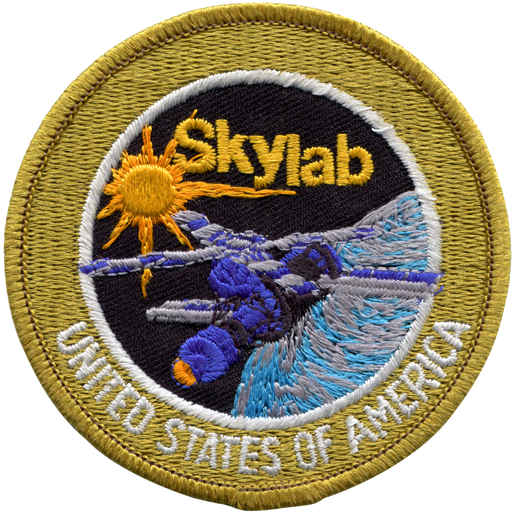 Skylab Program Souvenir Version - Space Patches