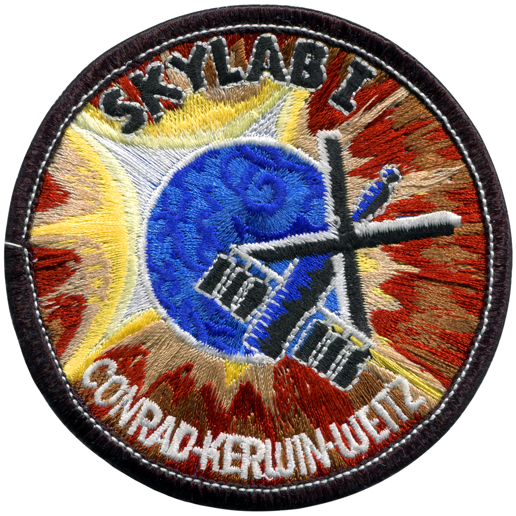 Skylab 1 Souvenir Version - Space Patches