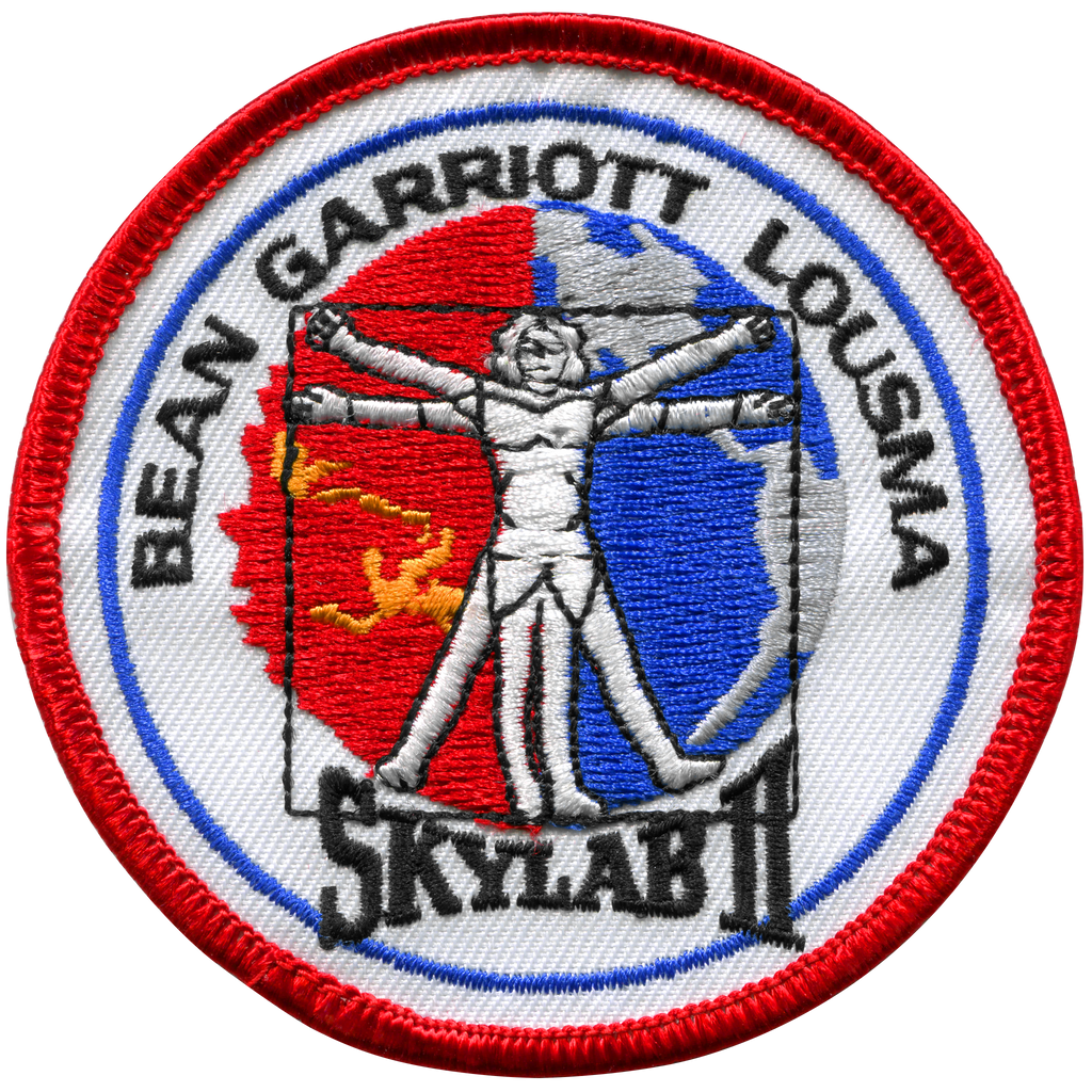 Skylab 3 Souvenir Version - Space Patches