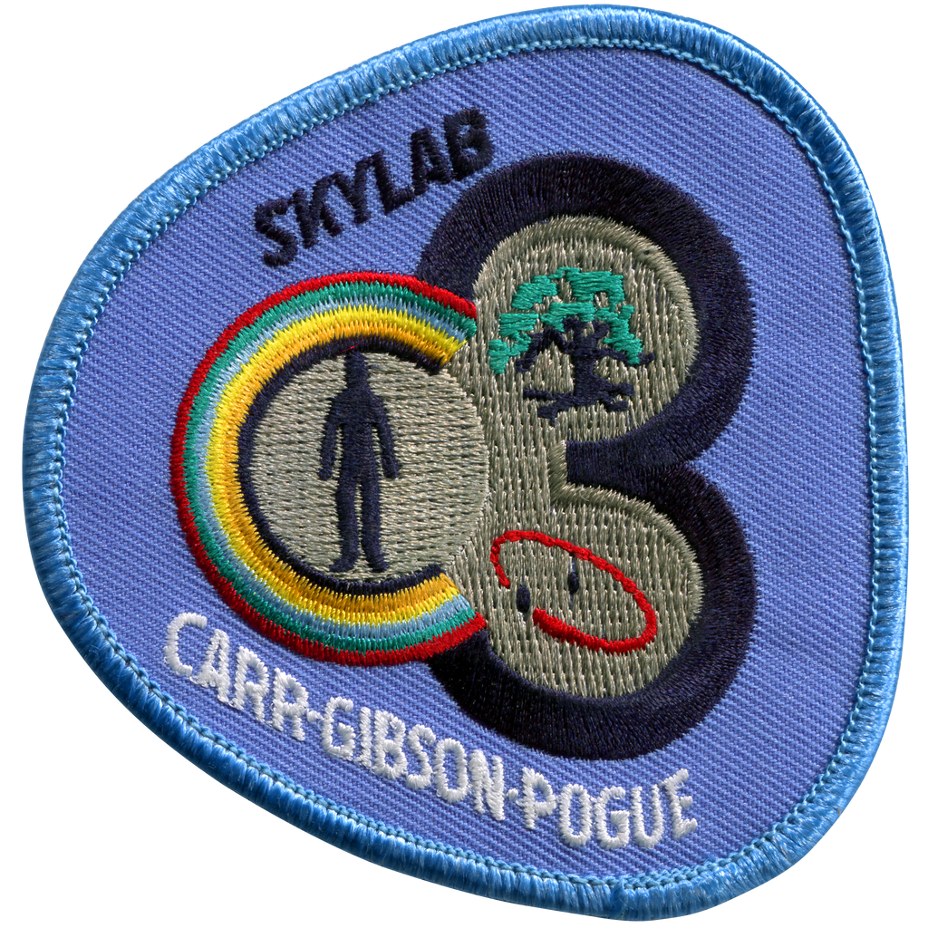 Skylab 4 Souvenir Version - Space Patches