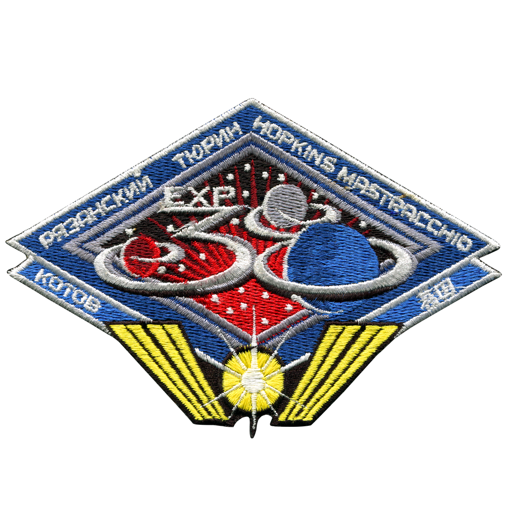 Expedition 38 - Space Patches