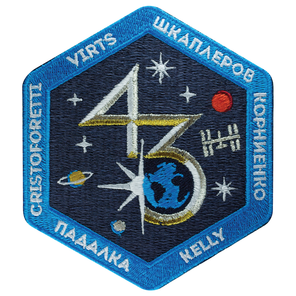 Expedition 43 - Space Patches