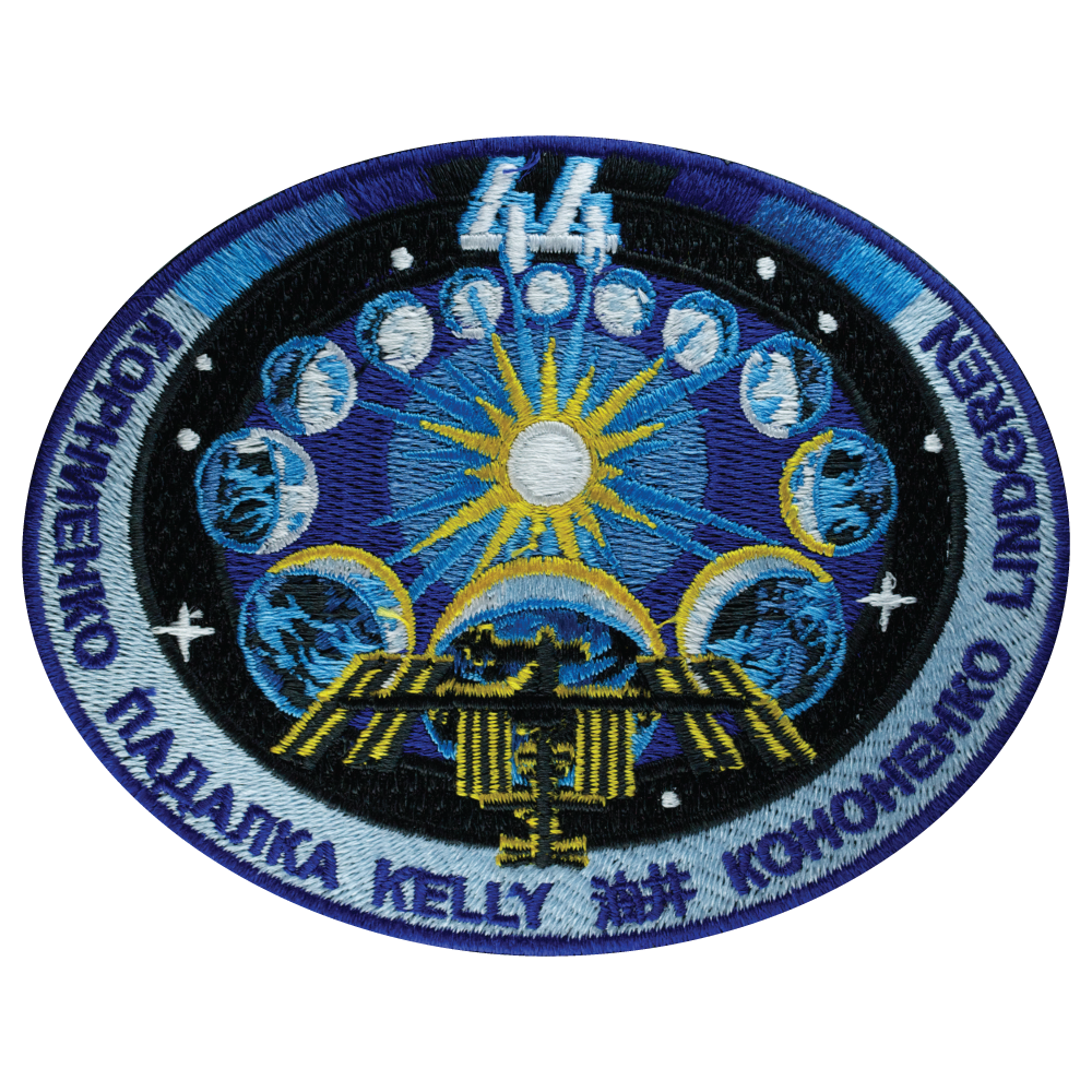 Expedition 44 - Space Patches