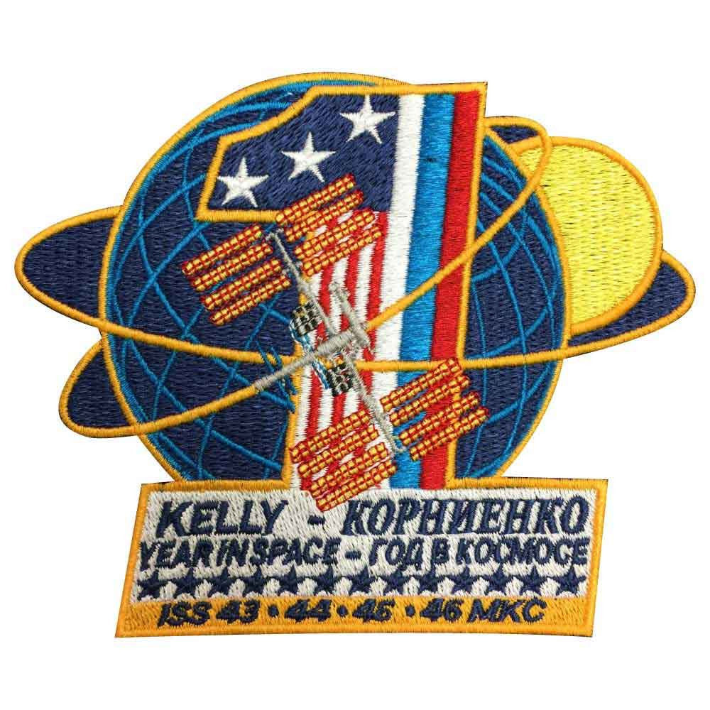 Commemorative Expedition One-Year-Mission - Space Patches
