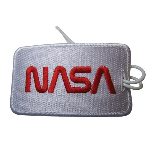 NASA Worm Luggage Tag