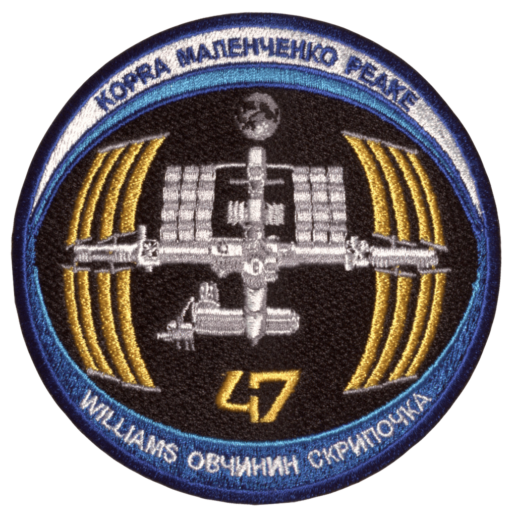 Expedition 47 - Space Patches