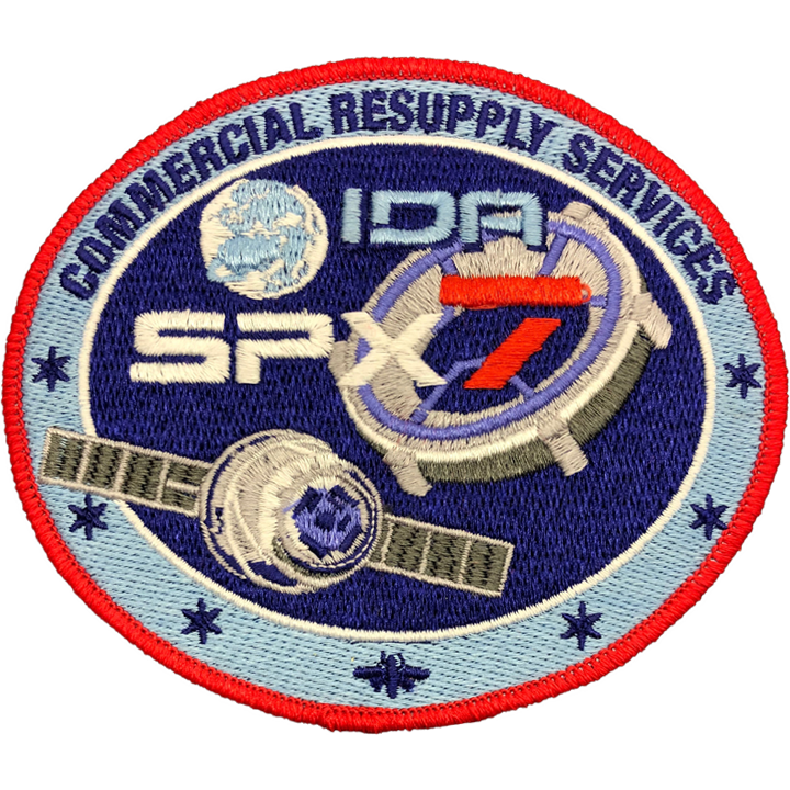 CRS SpaceX 7 - Space Patches