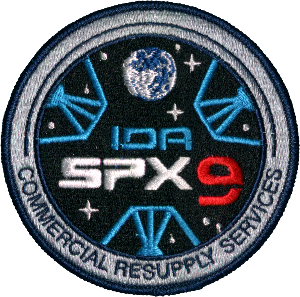 CRS SpaceX 9 - Space Patches