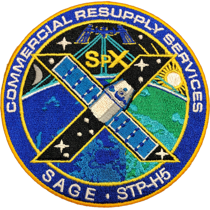 CRS SpaceX 10 - Space Patches