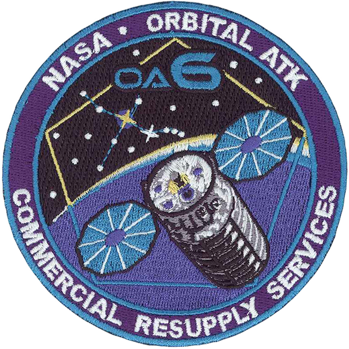 CRS OA 6 - Space Patches