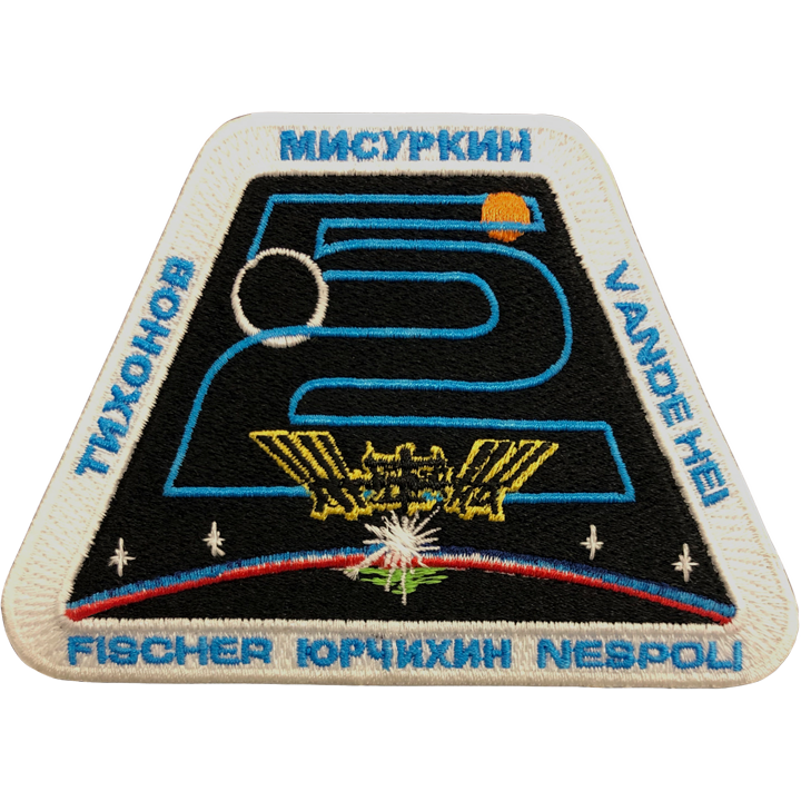 Expedition 52 Crew Change - Space Patches