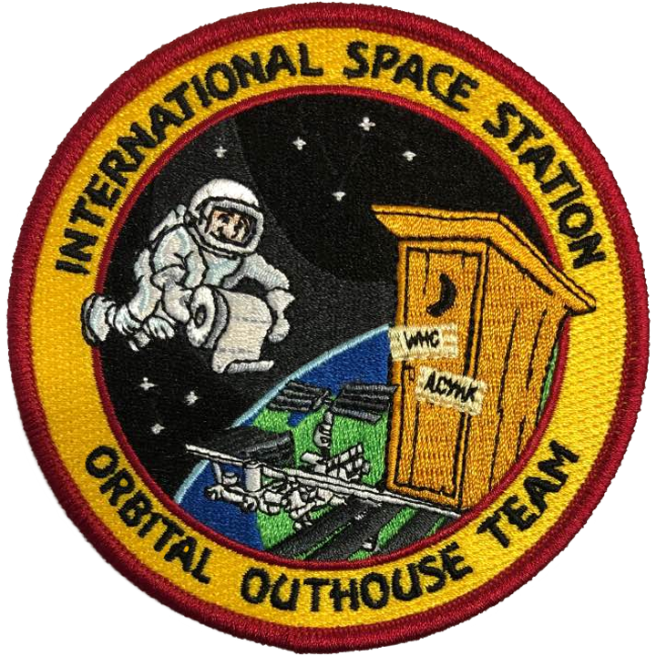 ISS Orbital Outhouse Team - Space Patches