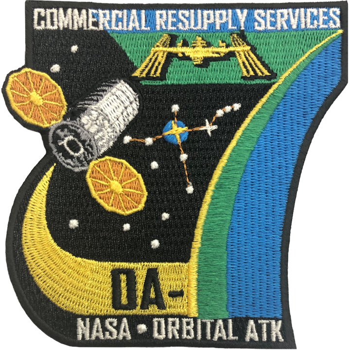CRS OA 7 - Space Patches