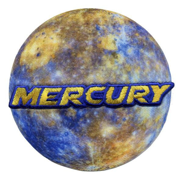 Mercury - Space Patches