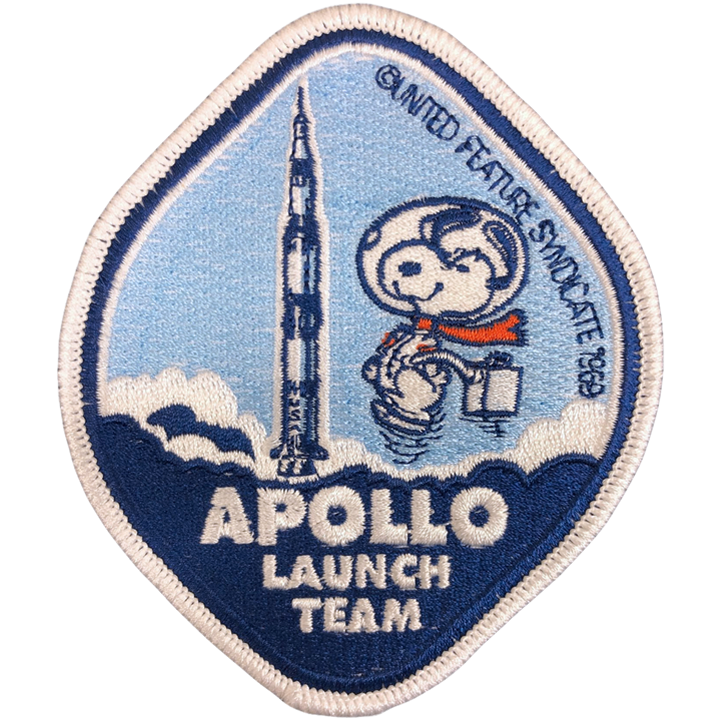 Project Apollo Launch Team - Space Patches