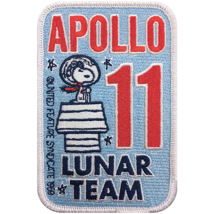 Project Apollo Lunar Team - Space Patches