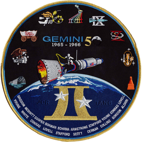 Gemini Commemorative Back-Patch