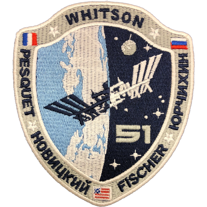 Expedition 51 - Space Patches