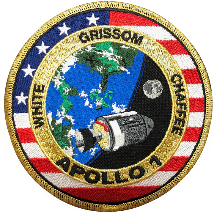 Apollo 1 Commemorative Mission Patch - Space Patches