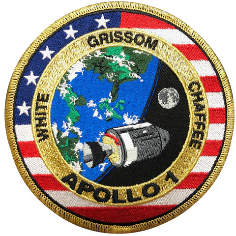 Apollo 1 Commemorative Mission Patch