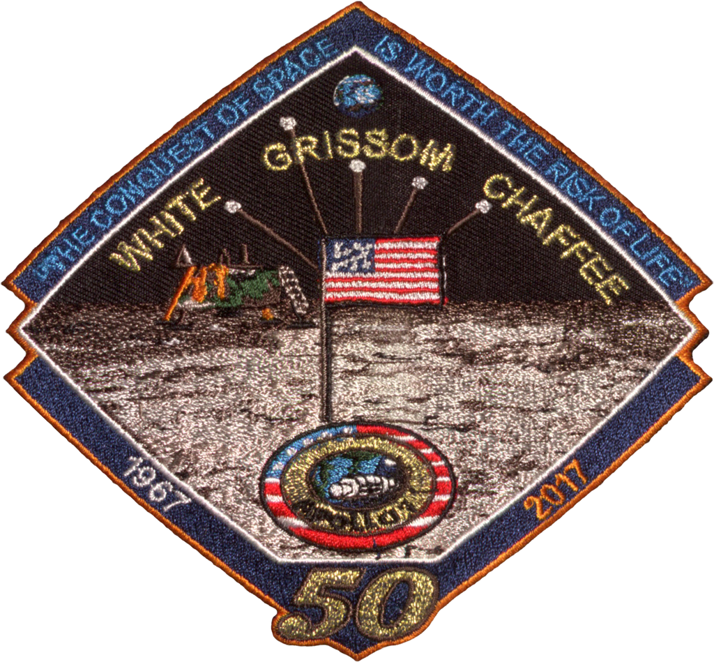 Apollo 1 Commemorative Spirit Patch - Space Patches