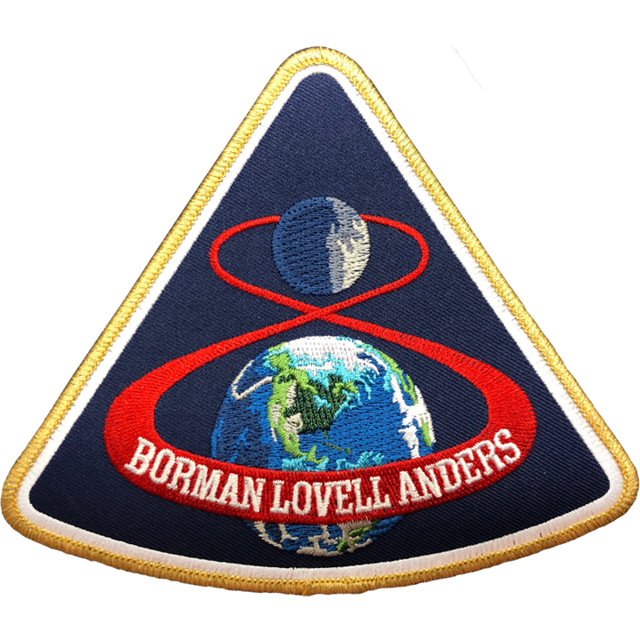 Apollo 8 Commemorative Mission - Space Patches