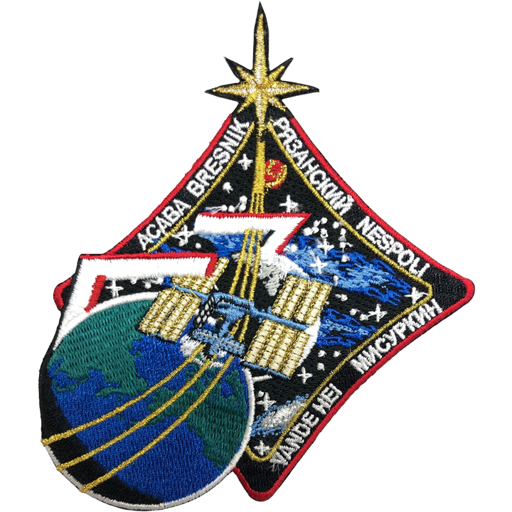 Expedition 53 - Space Patches
