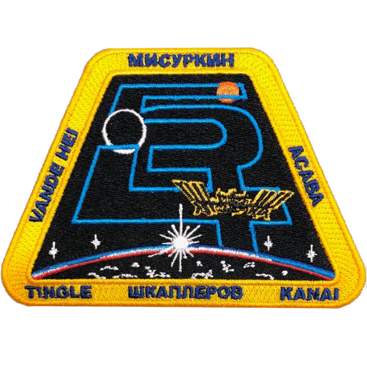 Expedition 54 - Space Patches