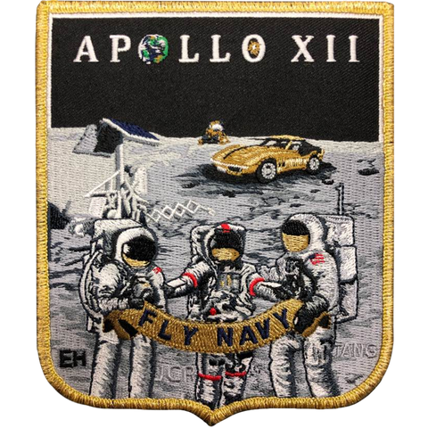 Apollo 12 Commemorative Spirit
