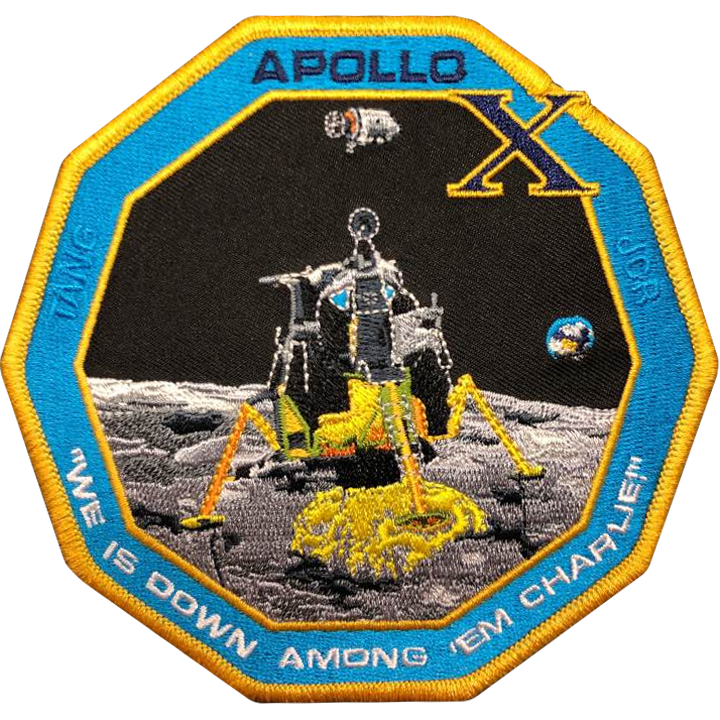 Apollo 10 Commemorative Spirit Patch - Space Patches